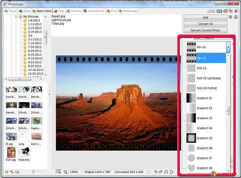 截图 PhotoScape Windows XP