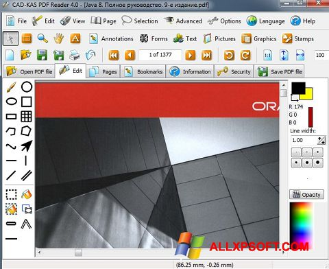 截图 PDF Reader Windows XP