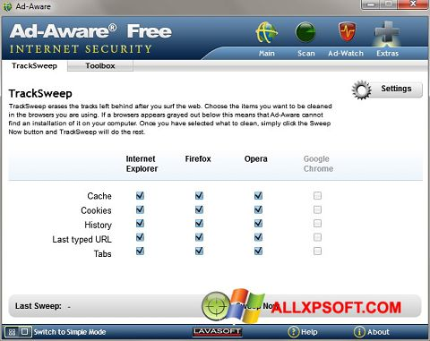 截图 Ad-Aware Windows XP