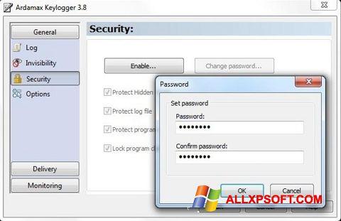 截图 Ardamax Keylogger Windows XP