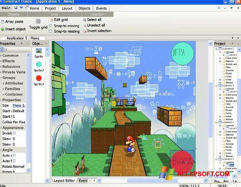 截图 Construct Classic Windows XP