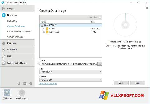 截图 DAEMON Tools Lite Windows XP