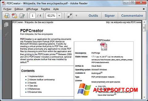 截图 PDFCreator Windows XP