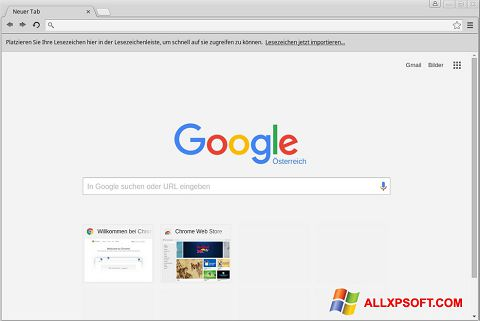 截图 Google Chrome Windows XP