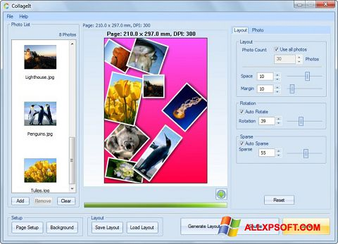 截图 CollageIt Windows XP