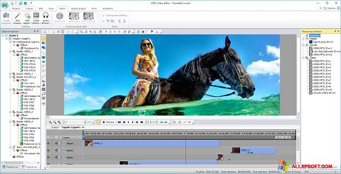 截图 Free Video Editor Windows XP