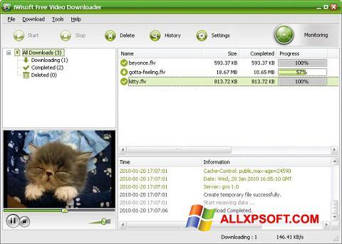 截图 Free Video Catcher Windows XP