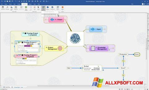 截图 MindManager Windows XP