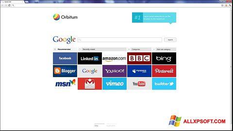 截图 Orbitum Windows XP