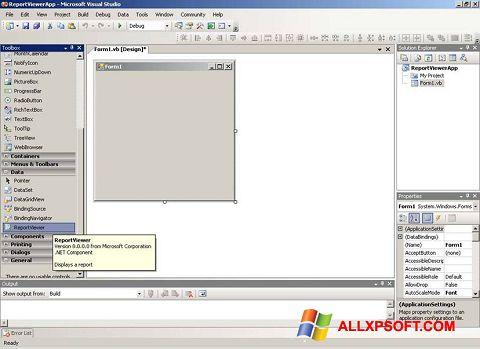 截图 Microsoft Visual Studio Windows XP