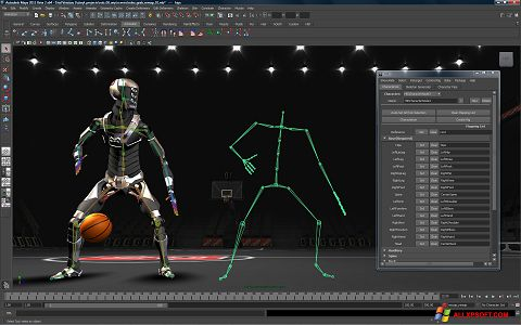 截图 Autodesk Maya Windows XP
