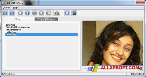 截图 Fake Webcam Windows XP
