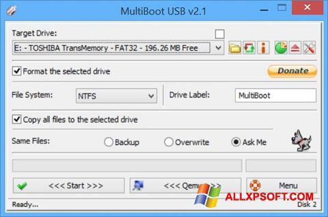 截图 Multi Boot USB Windows XP