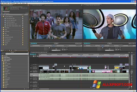 截图 Adobe Premiere Pro Windows XP