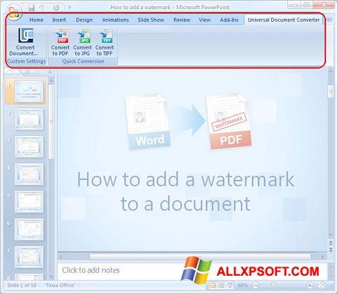 截图 Microsoft PowerPoint Windows XP