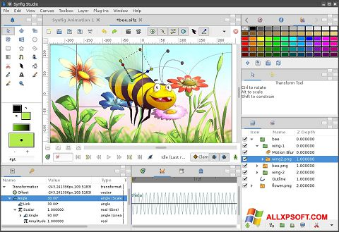 截图 Synfig Studio Windows XP