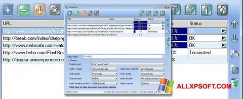 截图 VideoGet Windows XP
