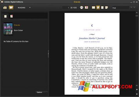 截图 Adobe Digital Editions Windows XP