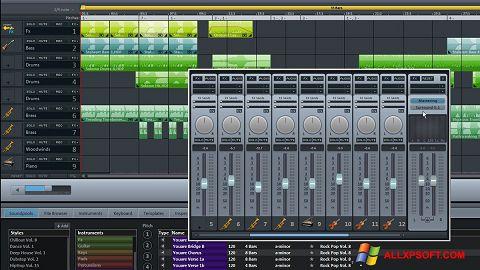 截图 MAGIX Music Maker Windows XP