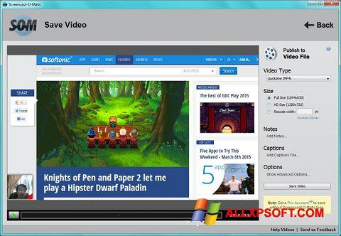 截图 Screencast-O-Matic Windows XP