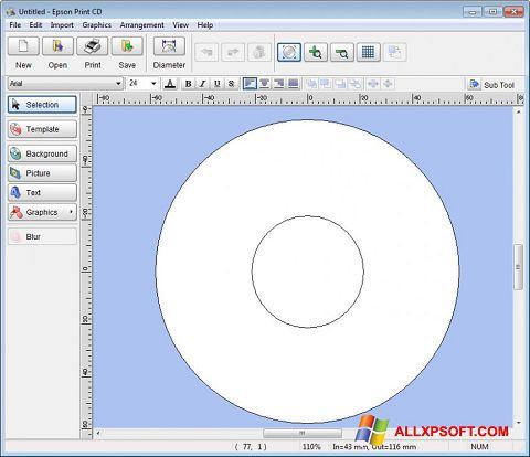 截图 EPSON Print CD Windows XP
