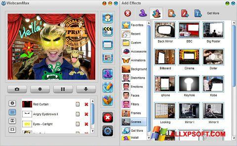 截图 WebcamMax Windows XP