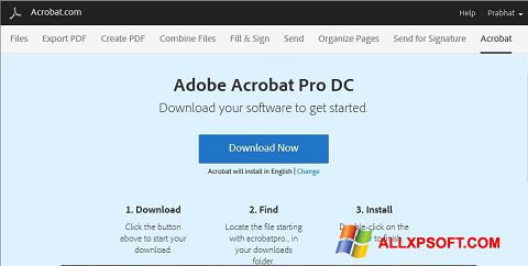 截图 Adobe Acrobat Windows XP