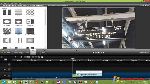 截图 Camtasia Studio Windows XP